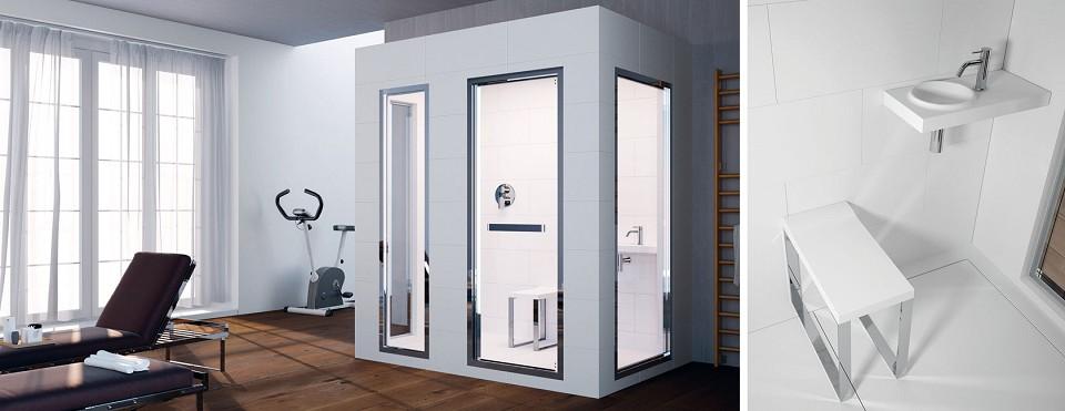 Vasche idromassaggio welness box doccia cromoterapia liguria minipiscine sauna bagno turco - Doccia bagno turco teuco ...