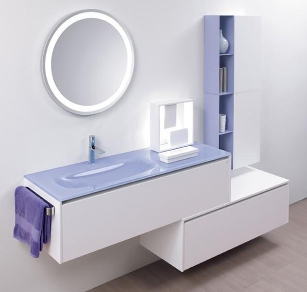Alberti Agenzie mobili per il bagno realizzati con materiali di alta ...