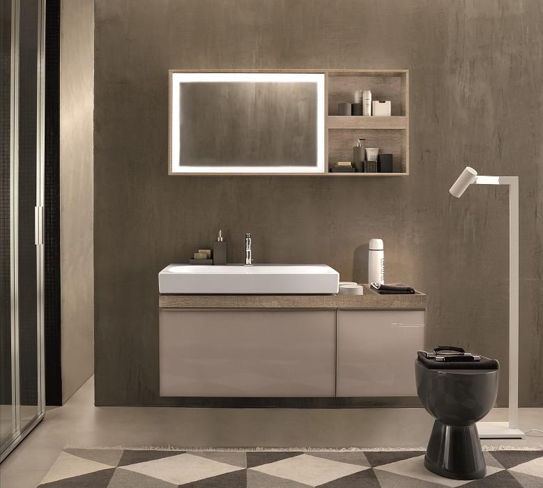 Ceramica smaltata sanitari vetrochina citterio lavabo for Arredo bagno alessandria